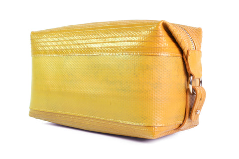 Wash Bag (Large / Yellow) by Elvis & Kresse