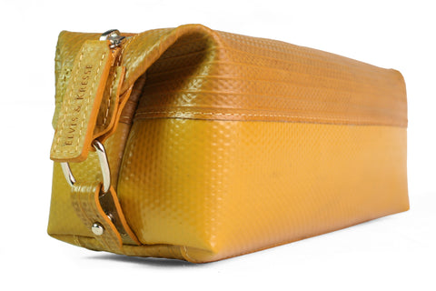 Wash Bag (medium / Yellow) by Elvis & Kresse