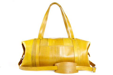 WeekEnd bag (yellow) by Elvis & Kresse