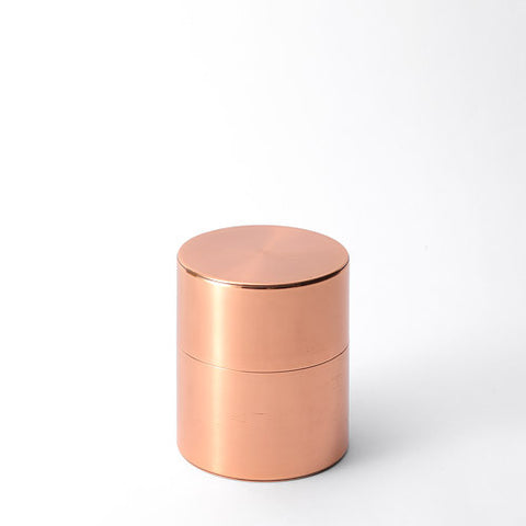 Kaikado Tea Caddy Copper 200g wide