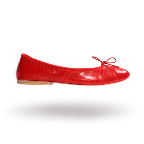 Porselli ballet flats (Red)