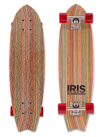 IRIS Skateboards Point Break (sample model - mint condition)