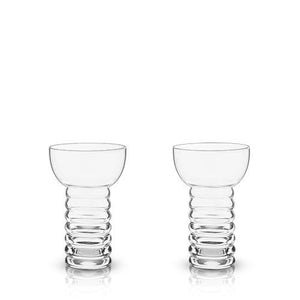 """Pearl Diver"" 30's-style Tiki Cocktail Glass (Set of 2)"