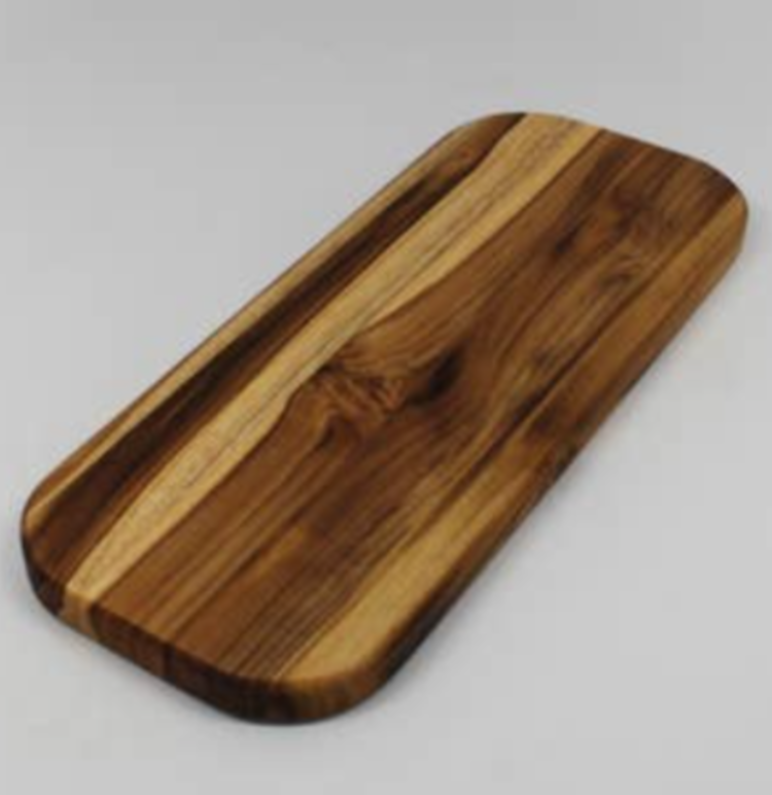 Madeira Teak Edge Grain Bar Board