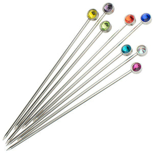 Gem Crystal Cocktail Picks