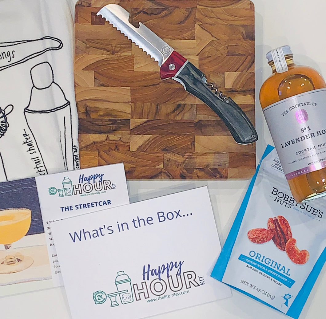 Happy Hour Kit Subscription