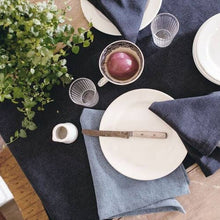 Load image into Gallery viewer, Heirloomed Denim Dinner Napkins - Set of 4