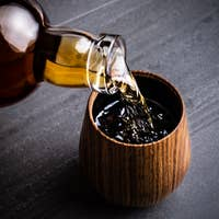 Oak Whiskey Tumbler
