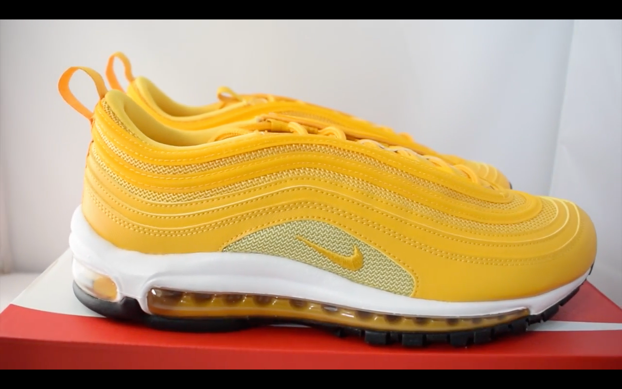 f3a6e6e59a8737 Nike Air Max 97 Mustard Yellow Womens   30% DISCOUNTED   – Urbans Wears