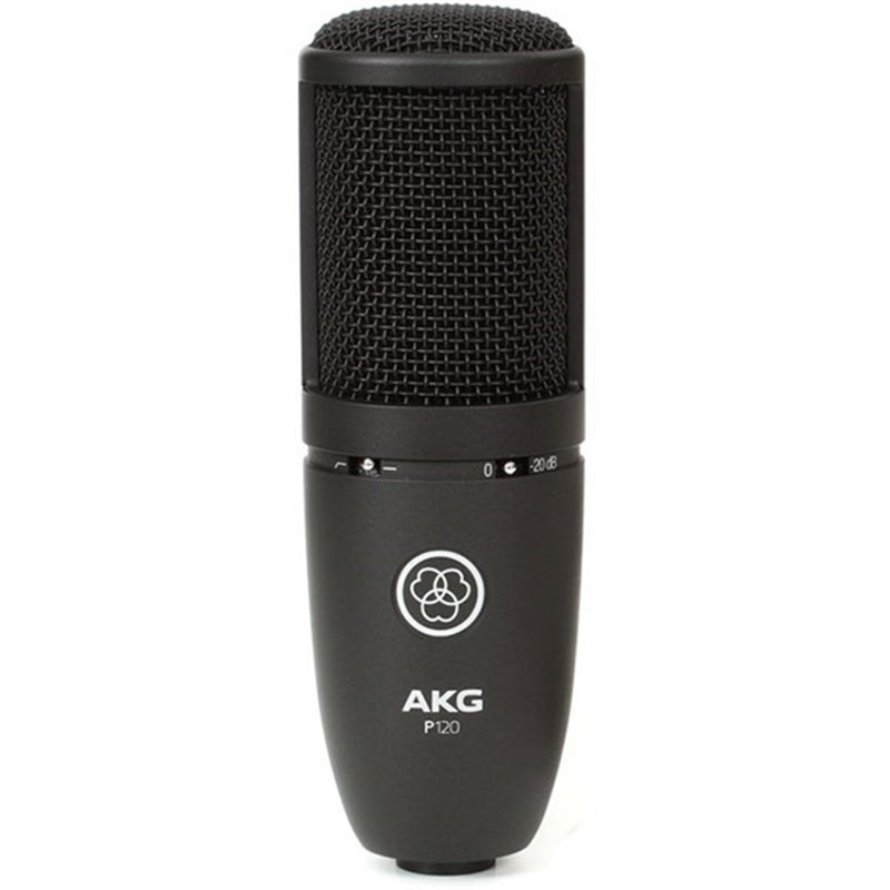AKG P120 Large-Diaphragm High Performance Condenser Microphone