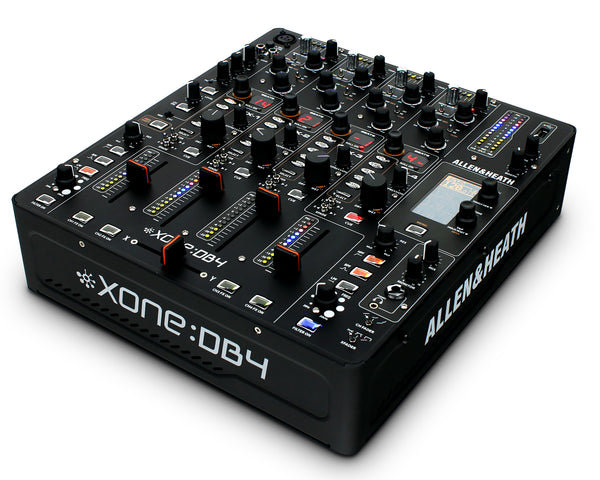Allen & Heath Xone:DB4 4 channel Digital DJ Effects Mixer