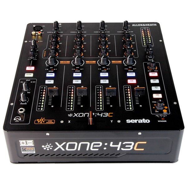 Allen & Heath XONE:43C 4+1 Channel DJ Mixer with Soundcard with Optional Serato CLUB KIT Upgrade