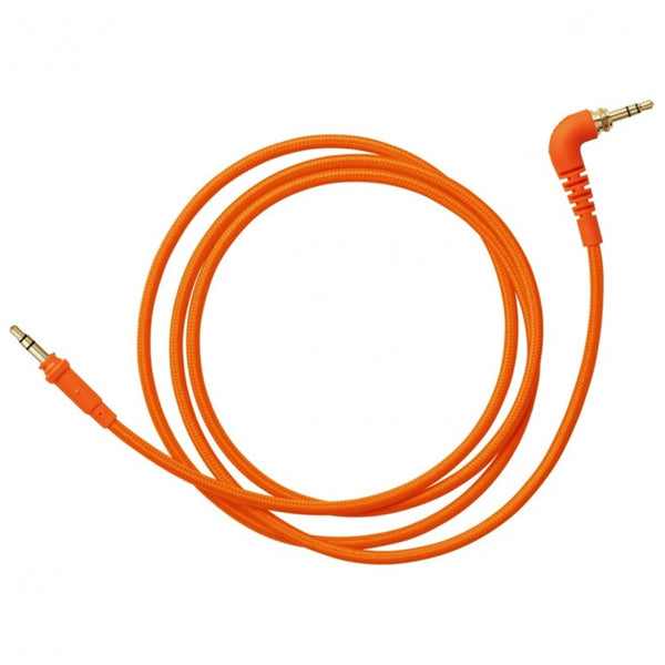 Aiaiai TMA-2 C12 Straight Woven Cable 1.2m (Neon Orange)