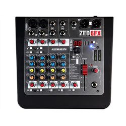 Allen & Heath ZED-6FX Compact 6-Input Analogue Mixer w/ Effects
