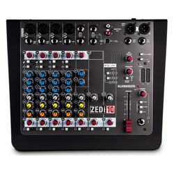 Allen & Heath ZEDi10 Hybrid Compact Mixer w/ 4x4 USB Interface