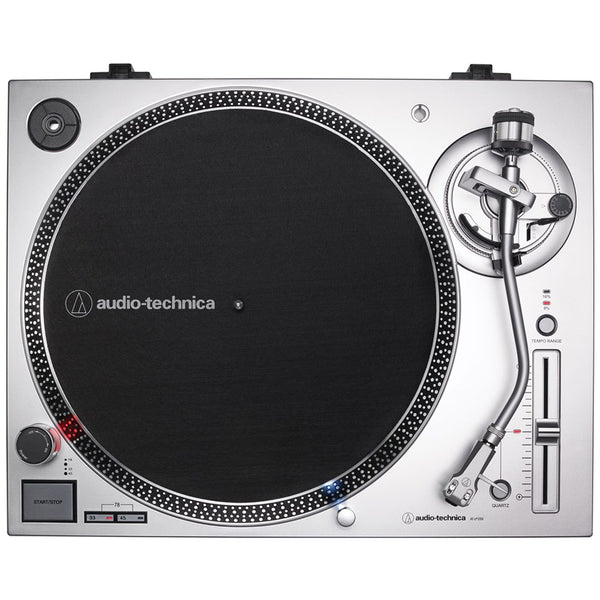 Audio-Technica LP120XUSB Direct-Drive Turntable (Silver) w/ VM95E Cartridge