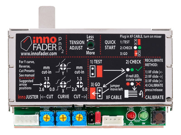 InnoFADER PNP2 for Rane 72 Replacement Crossfader
