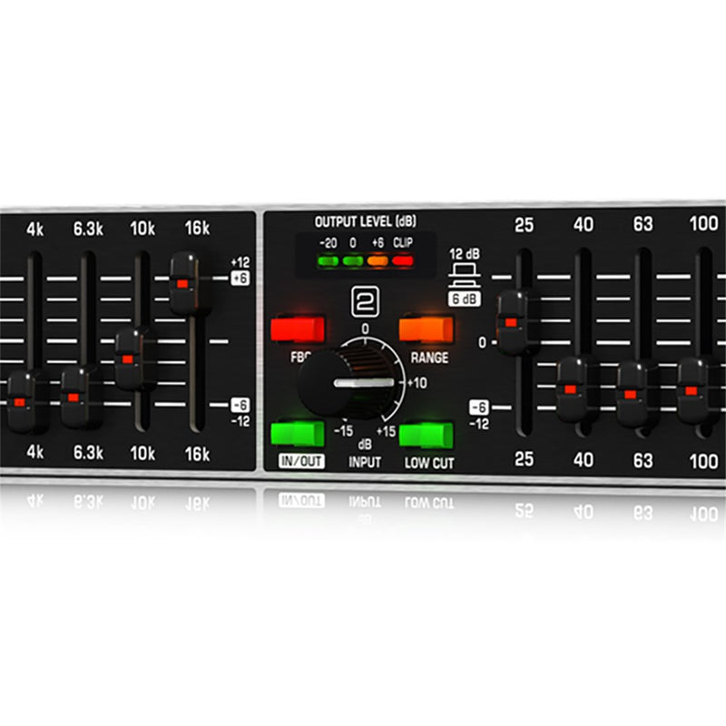 Behringer Ultragraph Pro FBQ1502HD 15-Band Graphic EQ