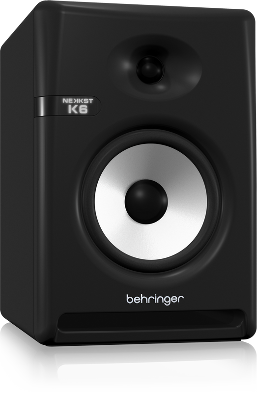 "Behringer NEKKST K6 Audiophile Bi-Amped 6"" Studio Monitor with Advanced Waveguide Technology (Pair)"
