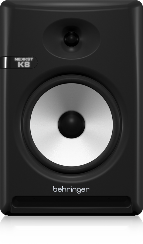 "Behringer NEKKST K8 Audiophile Bi-Amped 8"" Studio Monitors with Advanced Waveguide Technology (Pair)"