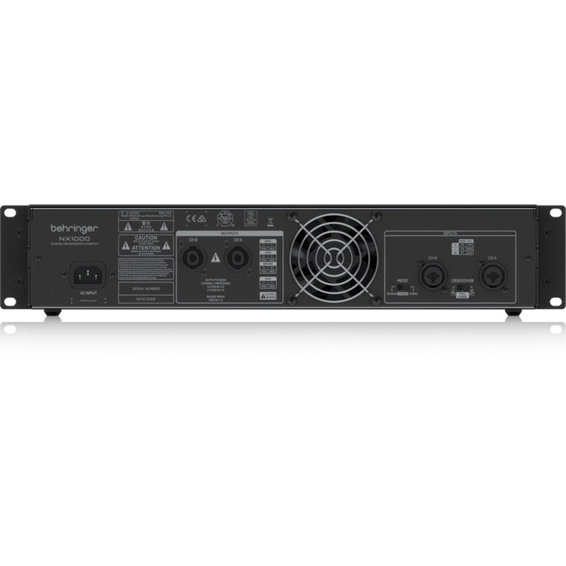 Behringer NX1000 Ultra-Lightweight 1000W Class-D Power Amplifier