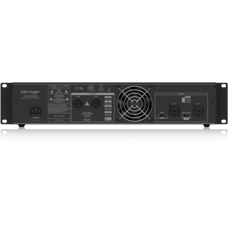 Behringer NX3000 Ultra-Lightweight 3000W Class-D Power Amplifier