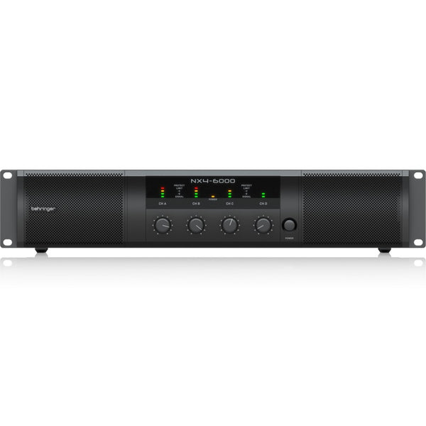 Behringer NX4-6000 4-Channel Ultra-Lightweight 600W Class-D Power Amplifier