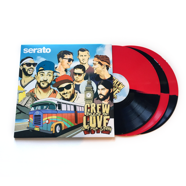 "Serato Pressings X CREW LOVE 3 X 12"" Control Triple Vinyl Set"