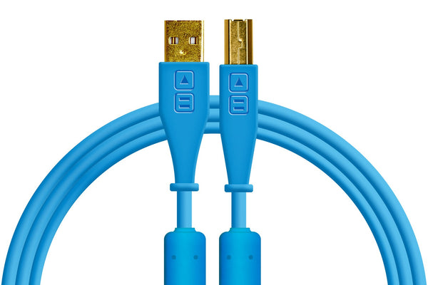Chroma Cables Audio Optimized USB-A Straight Cable (Various Colours)