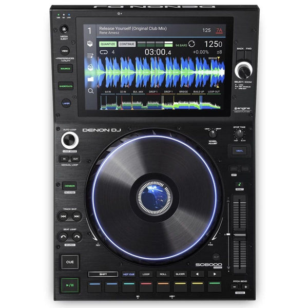 "Denon SC6000 Prime Prime Pro DJ Media Player w/ 10.1"" Touchscreen & WiFi Streaming PRE-ORDER"
