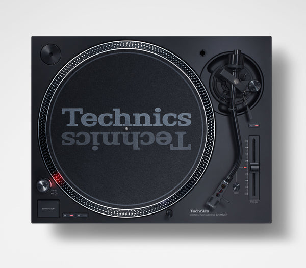 Technics SL-1210MK7 Direct Drive DJ Turntable (PAIR) with FREE EAH-DJ1200 Headphones Package