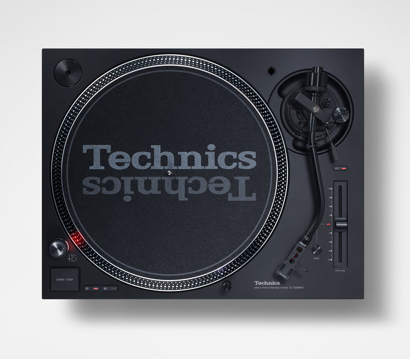 Technics SL-1210MK7 Direct Drive DJ Turntable (PAIR) with Ortofon Concorde Club Cartridges Package  + FREE EAH-DJ1200 Headphones