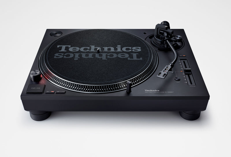 Technics SL-1210MK7 Direct Drive DJ Turntable (PAIR) with Ortofon Concorde Scratch Cartridges Package  + FREE EAH-DJ1200 Headphones