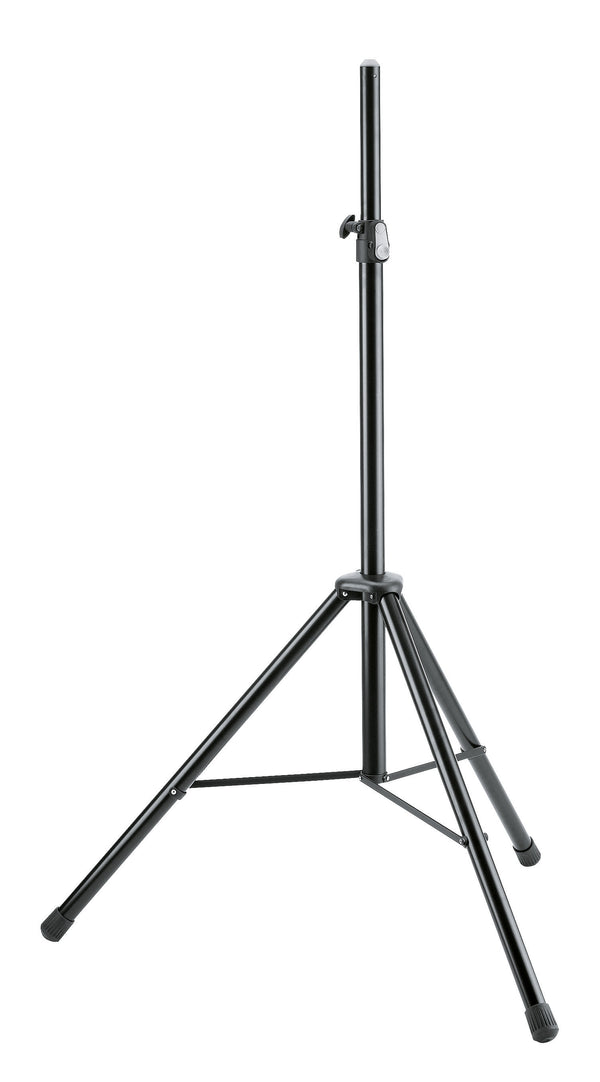 K&M 21436 SPEAKER STAND Black Aluminium | Made in Germany w/ 5 Year Warranty
