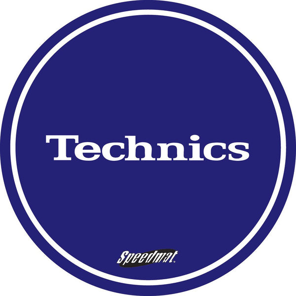 Technics Speed Turntablists Slipmat Blue | Pair