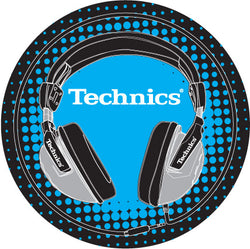 Technics Headphones DJ Slipmats | Pair