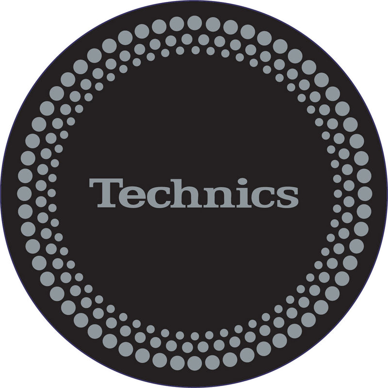 Technics Silver Dots Slipmats | Pair
