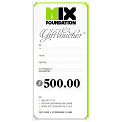 Mix Foundation $500 GIFT VOUCHER