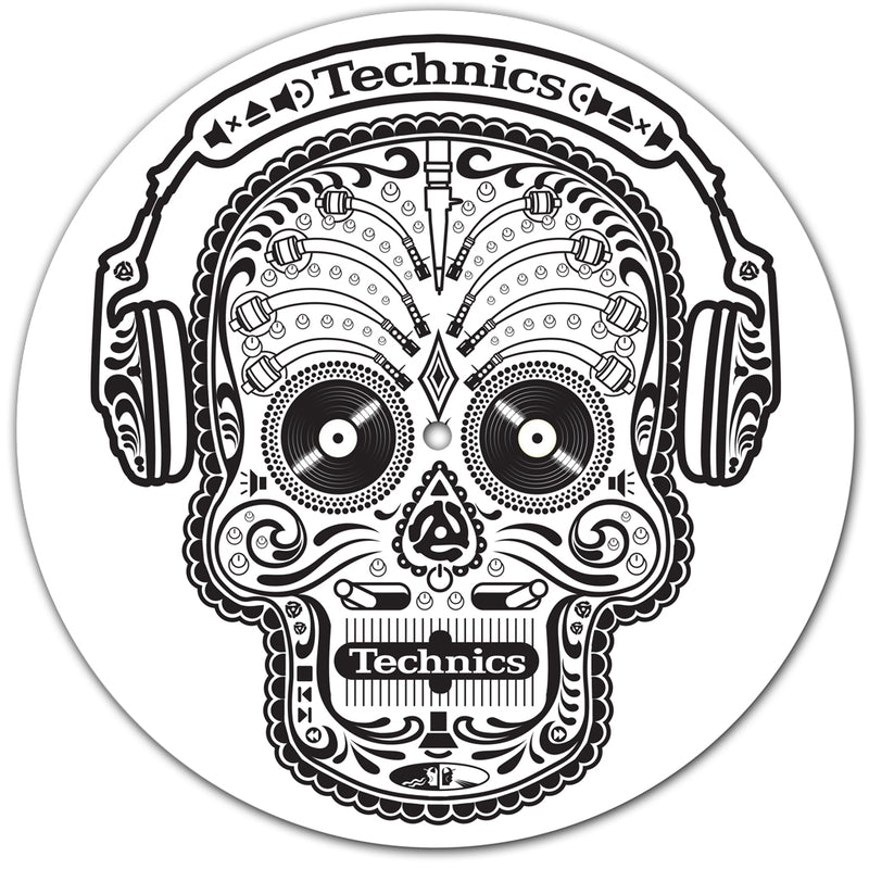 Technics Skull n Phones Slipmats | Pair