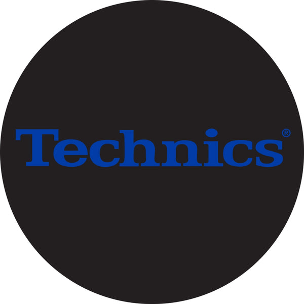 Technics Electric Blue DJ Slipmats | Pair