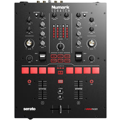 Numark SCRATCH 24-Bit 2-Channel Mixer for Serato DJ Pro with Innofader