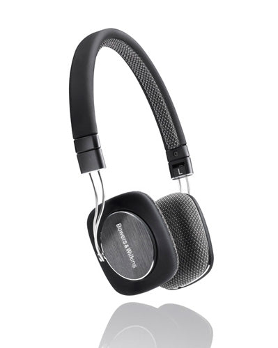 B&W P3 Headphones Natural Sound | Black,White |