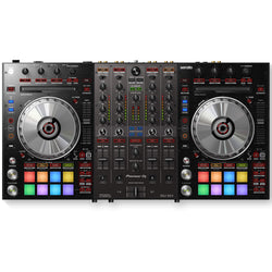 Pioneer DDJ-SX3 4-Channel DJ Controller for Serato DJ Pro (Optional UDG Shell Case or Flight Case)