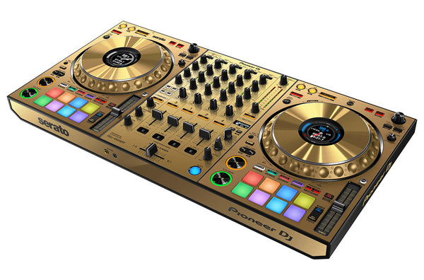 Pioneer DDJ-1000SRT-N 4-Channel Performance Controller for Serato DJ Pro  (Limited Edition Gold) LTD STOCK