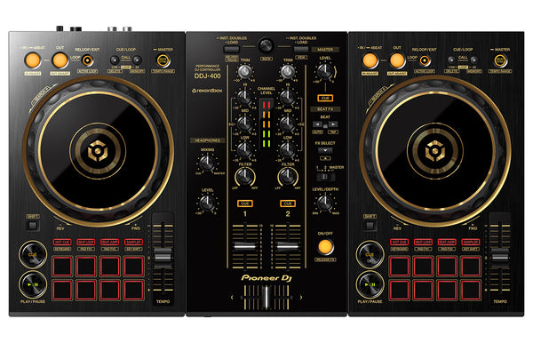 Pioneer DDJ-400-N 2-Channel DJ controller for Rekordbox (Limited Edition Gold) PRE-ORDER