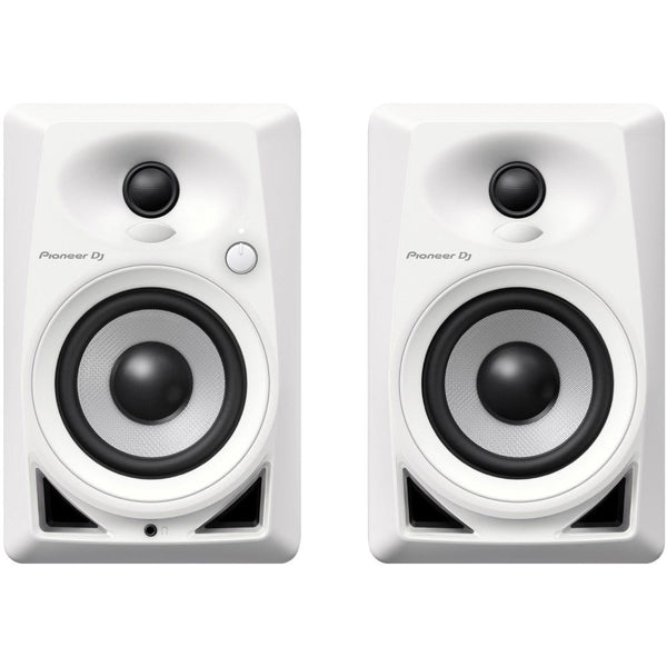Pioneer DM-40W 4-inch Compact Active Monitor Speaker (Pair) White