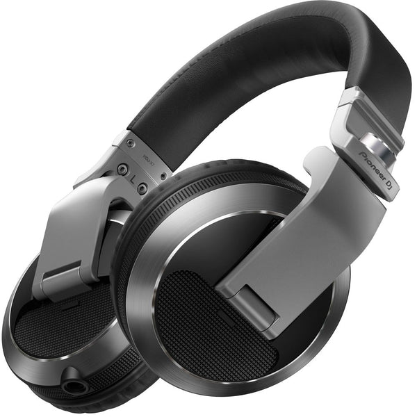 Pioneer HDJ-X7 Professional Over-Ear DJ Headphones (Silver)