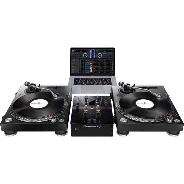 Pioneer PLX-500 Turntable with DJM-250MK2 DJ Package