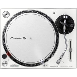 Pioneer PLX 500 Direct-Drive DJ Turntable (White)