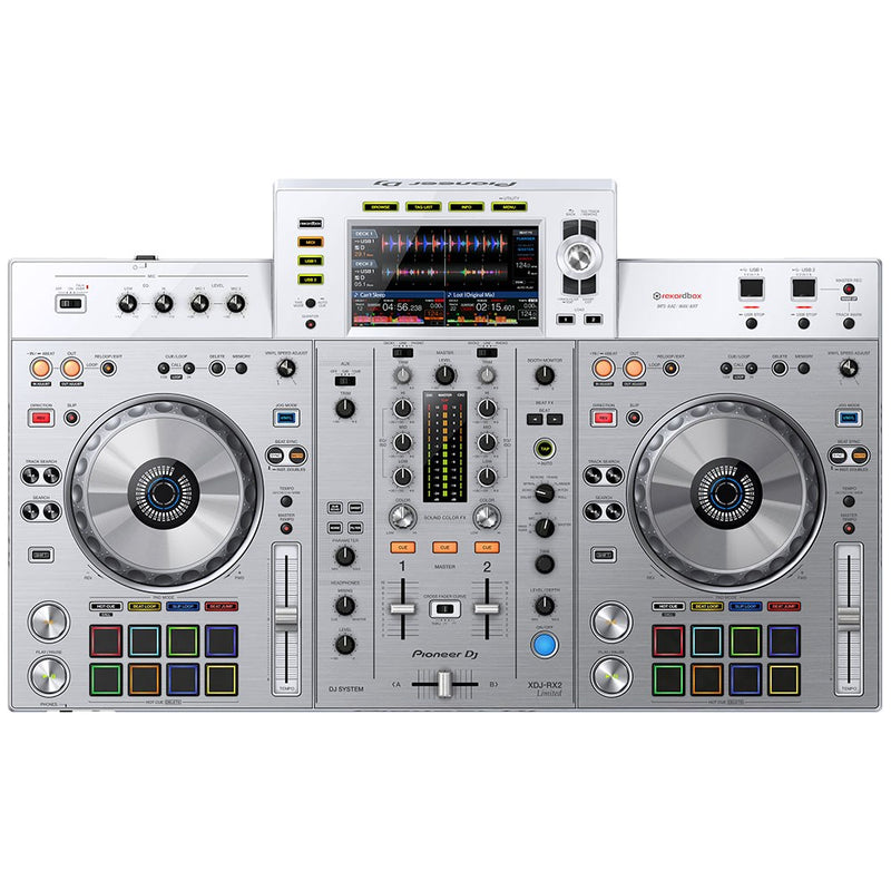 Pioneer XDJ-RX2 All-In-One Rekordbox DJ Controller Limited Edition White  (optional Road case)